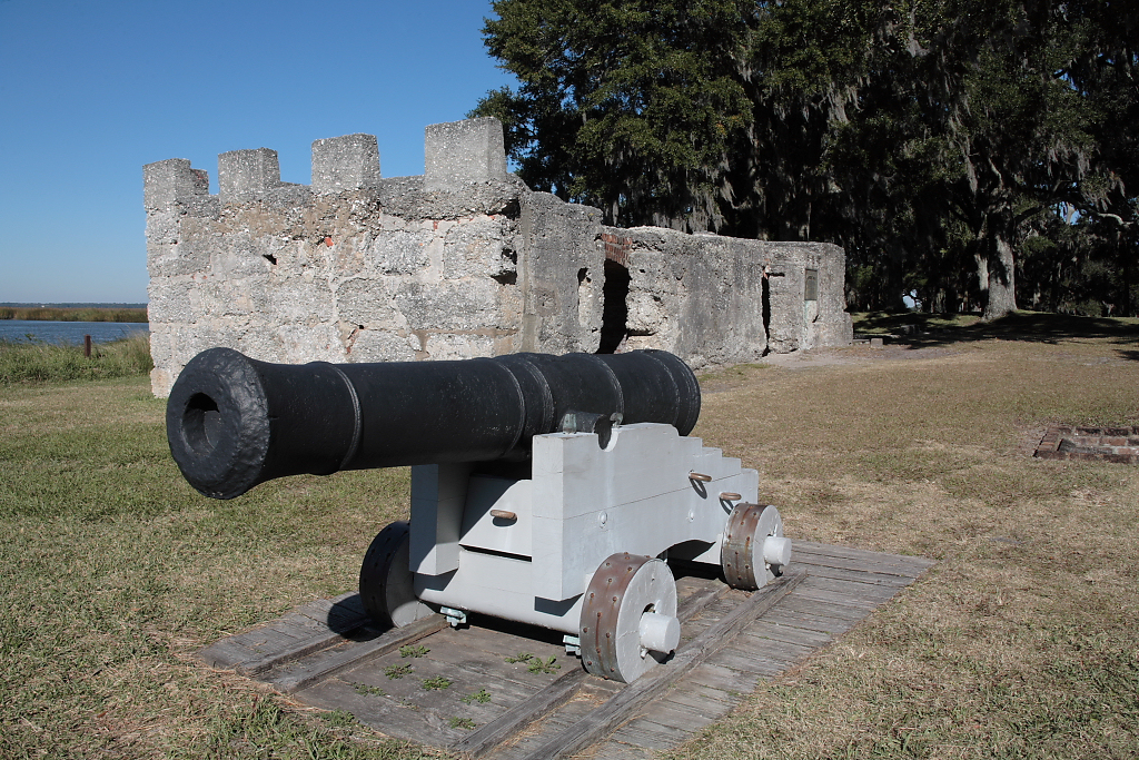 Fort Frederica today